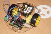 робот, созданный в ФабЛабе