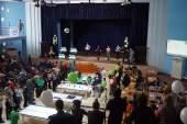 подведение итогов на соревновании робофест 2015